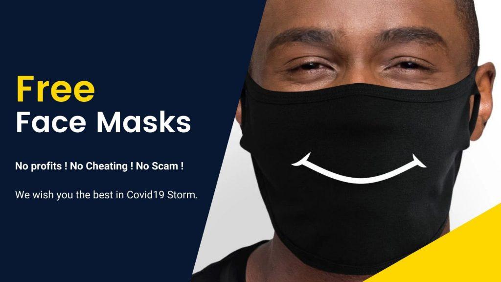 Free Mask Banner 2 - Galaxy Hoodie