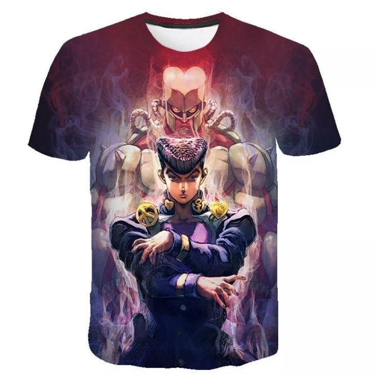 JJBA custom tshirt - Galaxy Hoodie