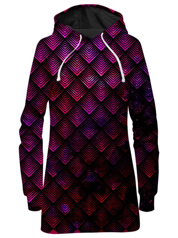 ALL HoodieDress Front GalactidDragonScalePink 2048x2730 1 - Galaxy Hoodie