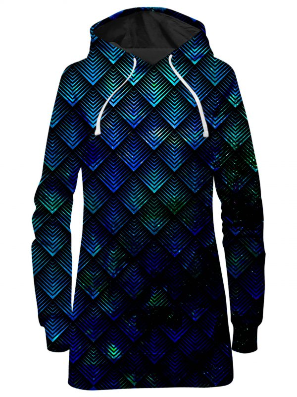ALL HoodieDress Front - Galaxy Hoodie