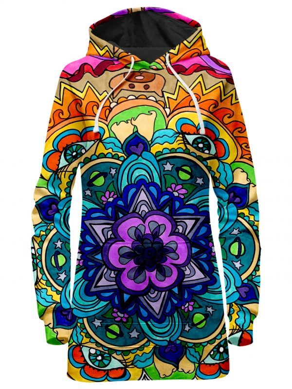 ALL HoodieDress Front Microcosm 2048x2730 1 - Galaxy Hoodie