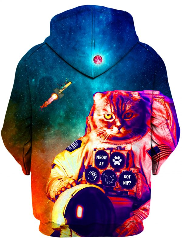 ALL HoodiePullover02Back Catstronaut 1024x2730 1 - Galaxy Hoodie