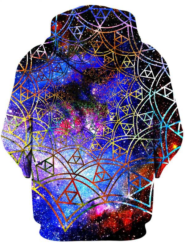 ALL HoodiePullover02Back Fractal 1024x2730 1 - Galaxy Hoodie