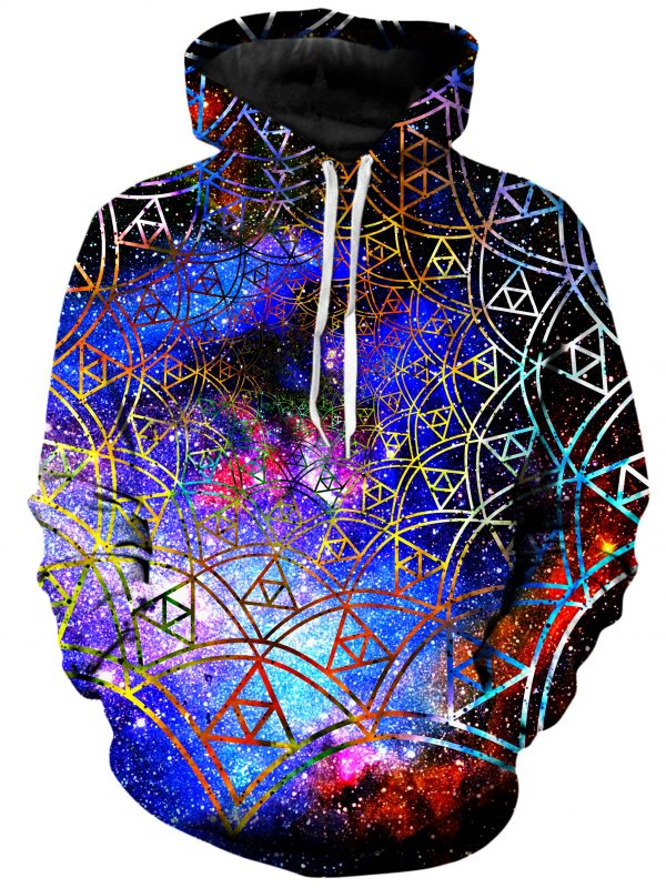 ALL HoodiePullover02Front Fractal 1024x2730 1 - Galaxy Hoodie