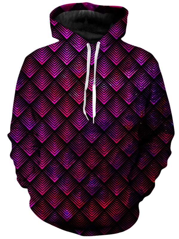 ALL HoodiePullover02Front GalacticDragonScalePink 1024x2730 1 - Galaxy Hoodie