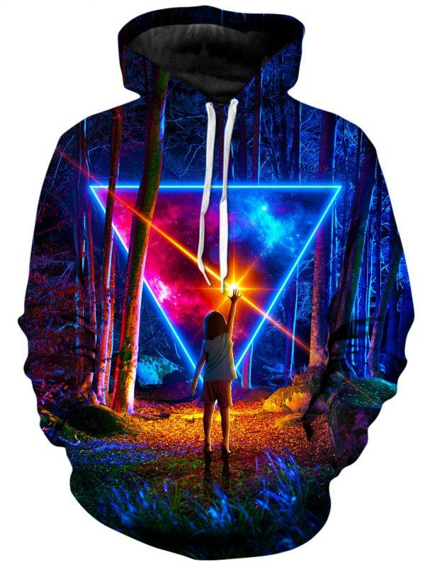 Awe Wonder ThinkLumi HoodiePullover02Front 1024x2730 original - Galaxy Hoodie