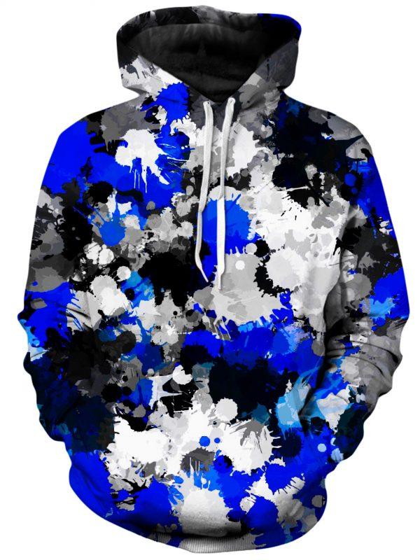 BIGTEXFUNKADELIC HoodiePullover02Front Blue and Grey Paint Splatter 1024x2730 1 - Galaxy Hoodie