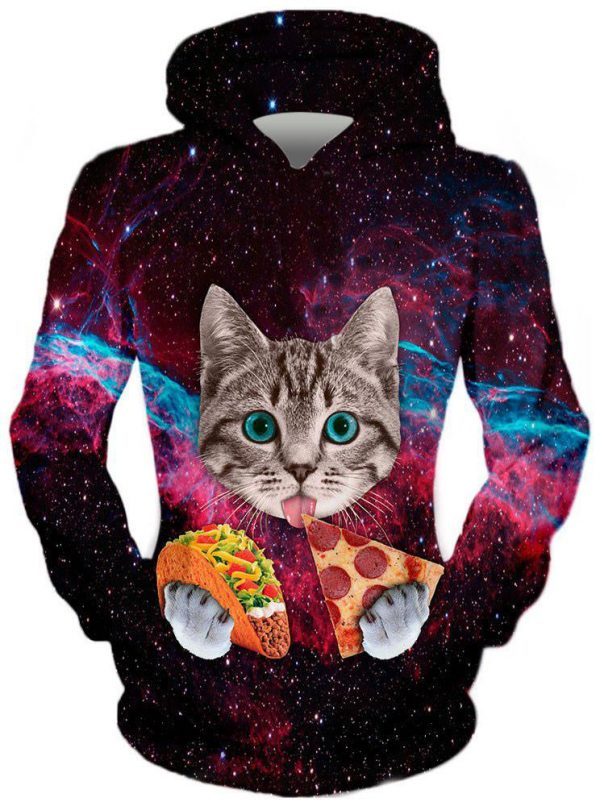 Cat Taco Pizza Frotn 1024x1024 58179d93 7e01 4a43 9dfe 805fd83fbda7 - Galaxy Hoodie