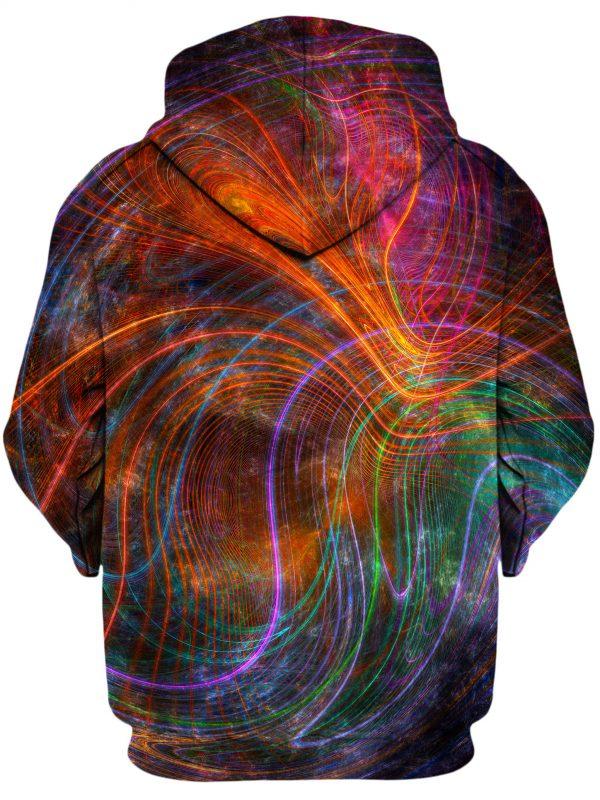 Fractalized YantrartDesign HoodiePullover02Back 1024x2730 1 - Galaxy Hoodie