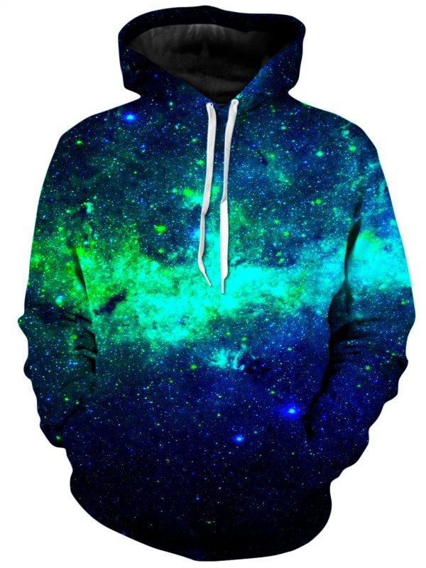 Green Galaxy 33549177 88d7 4077 a2ed 0a5ae78a1350 - Galaxy Hoodie