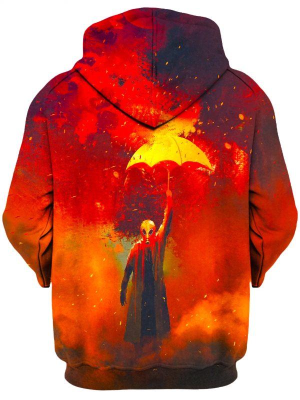 Last Man b - Galaxy Hoodie