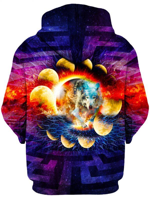 Lone Wolf b 5355a7d9 45f5 49a2 97af 237c291cb716 - Galaxy Hoodie