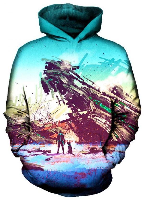 No Escape hoodie - Galaxy Hoodie