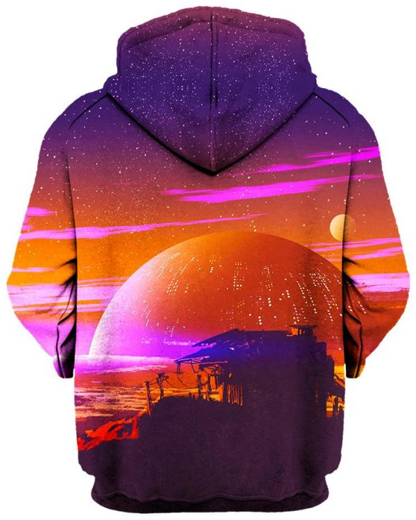 Other World Back - Galaxy Hoodie