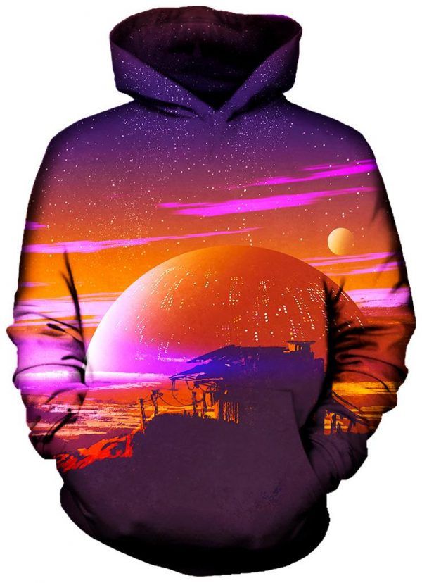 Other World Front - Galaxy Hoodie