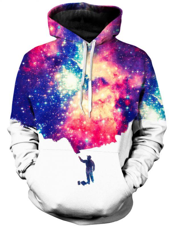 Painting The Universe ab0ad08f 37a0 404a bc80 f8c29f59f504 - Galaxy Hoodie