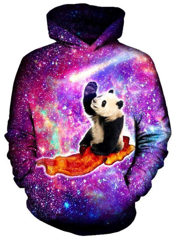 Panda Bacon H 1024x1024 8814e2de fbe5 4761 bb42 594fe2d0b6be - Galaxy Hoodie