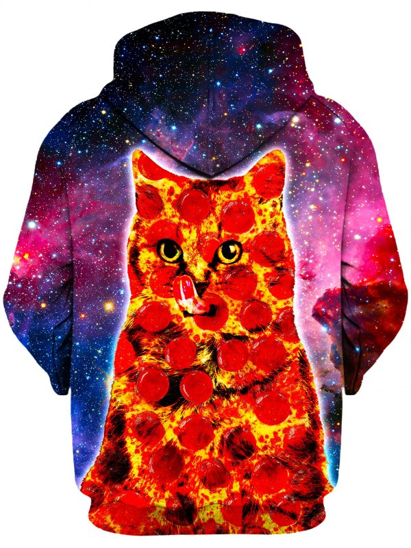 Pepperoni Space Cat b 20652f2b 1740 4cb6 ac2c cbca9673e5c2 - Galaxy Hoodie