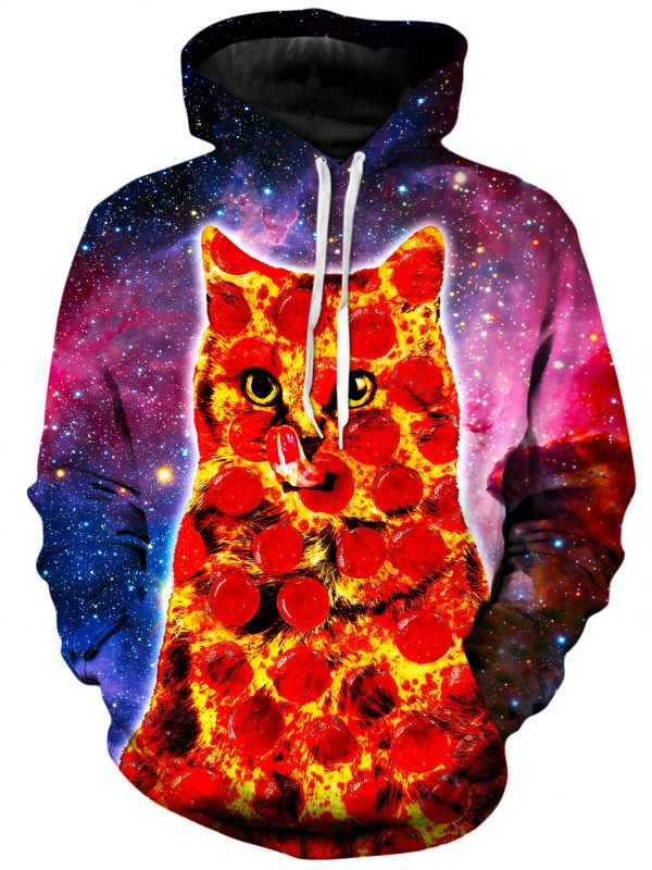 Pepperoni Space Cat f6df9f61 a96a 419e afb1 5e806d4c6da4 - Galaxy Hoodie