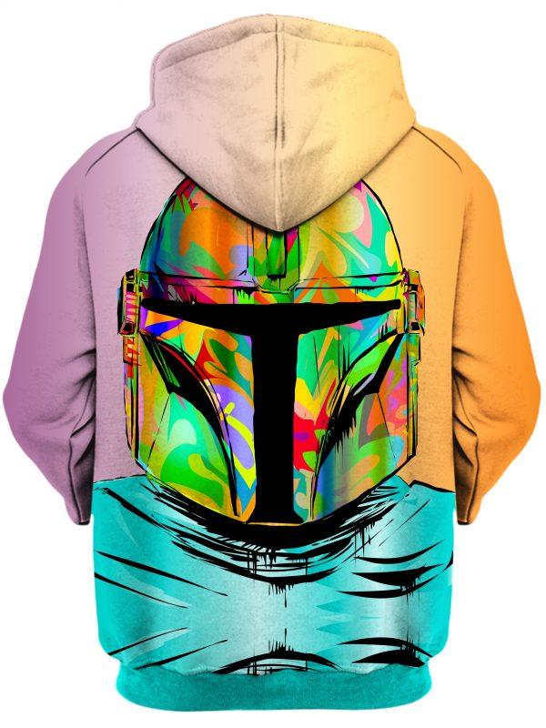 Technodrome HoodiePullover02Back Mando 2048x2730 1 - Galaxy Hoodie