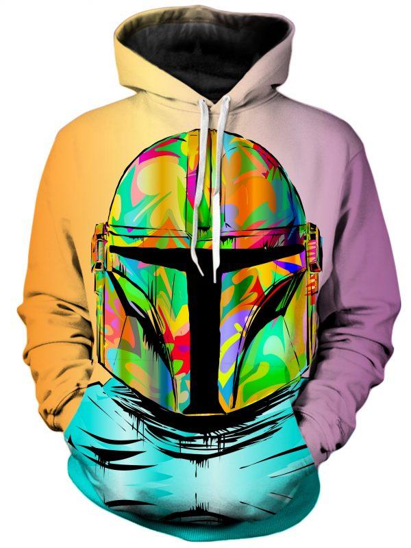 Technodrome HoodiePullover02Front Mando 2048x2730 1 - Galaxy Hoodie