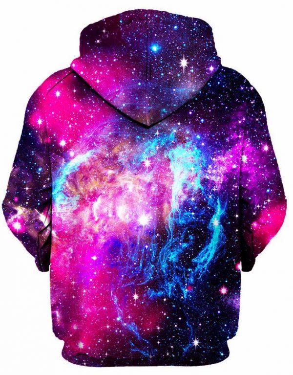Trance State Back - Galaxy Hoodie