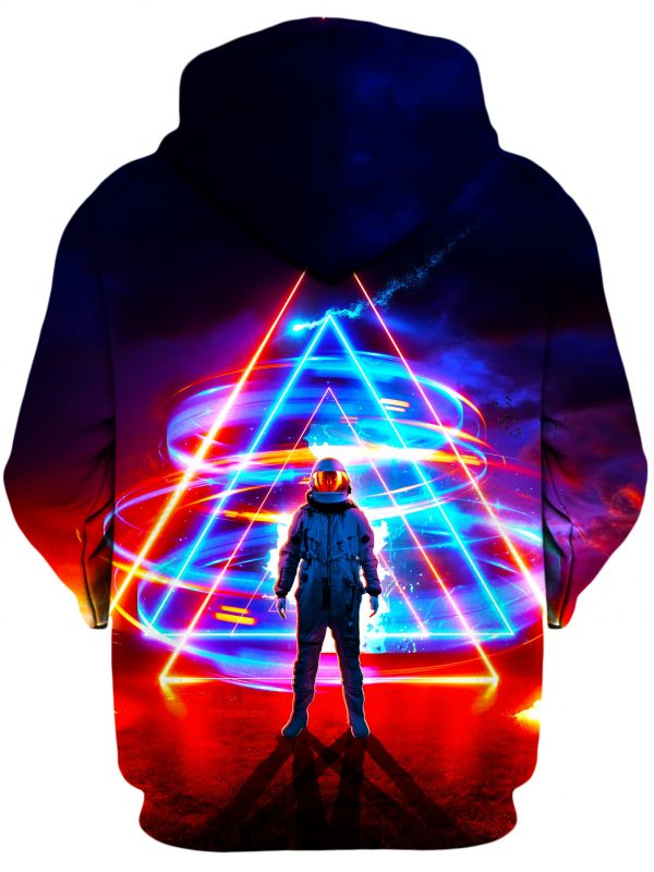 Triangler ThinkLumi HoodiePullover02Backt 1024x2730 original - Galaxy Hoodie