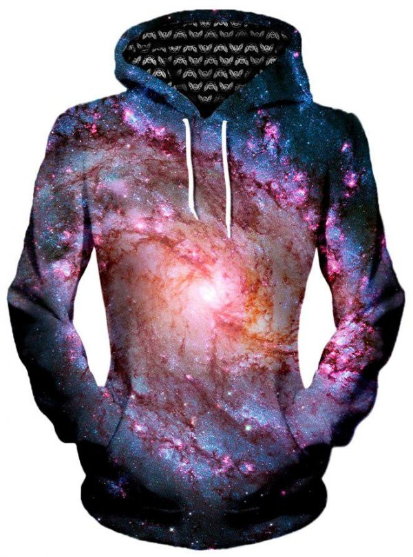 Twisted Skies Women s Pullover Front - Galaxy Hoodie