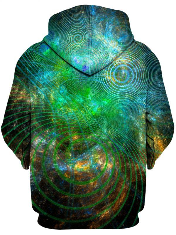 UnfoldedCosmos YantrartDesign HoodiePullover02Back 1024x2730 1 - Galaxy Hoodie