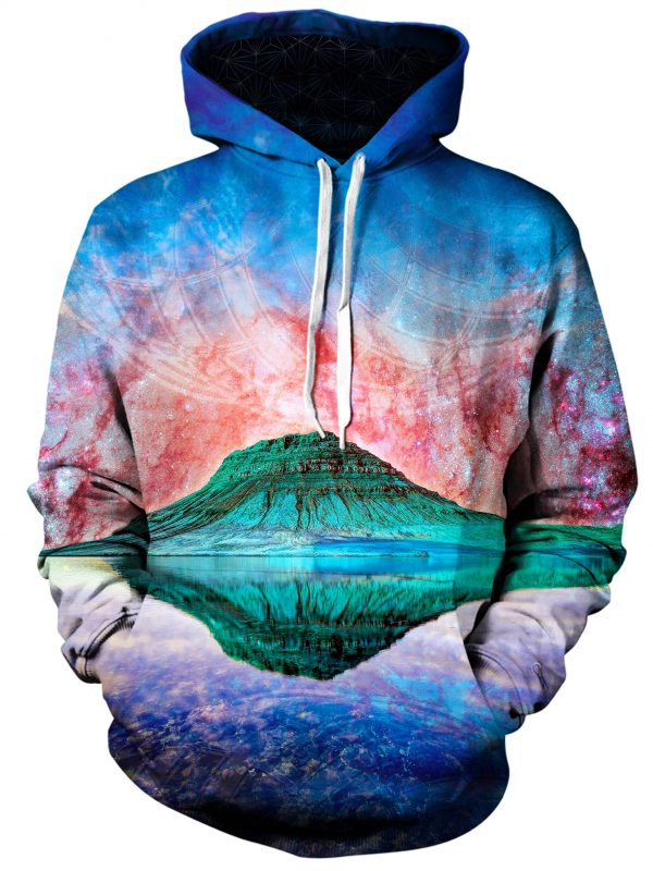 alien rockies art pullover front - Galaxy Hoodie