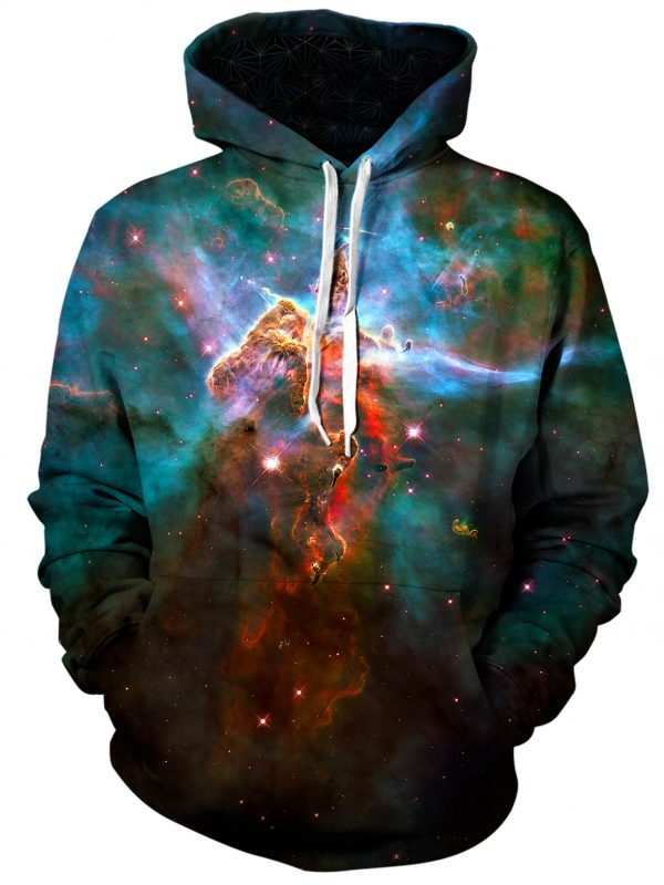 aura art pullover front - Galaxy Hoodie