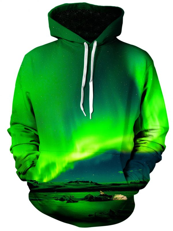 borealis art pullover front - Galaxy Hoodie