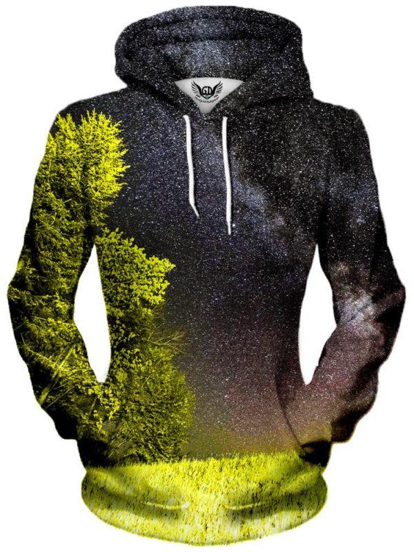 bright night pullover womensfront - Galaxy Hoodie