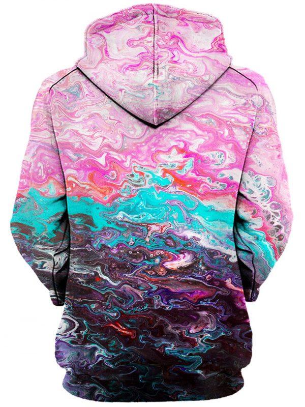 bubblegum haze pullover womensback - Galaxy Hoodie