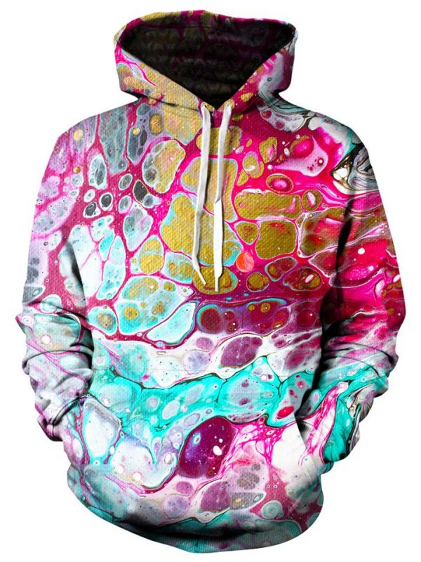 cellular pullover front - Galaxy Hoodie