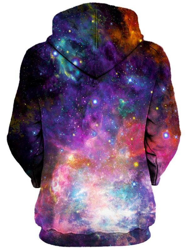 coral corona pullover womensback - Galaxy Hoodie