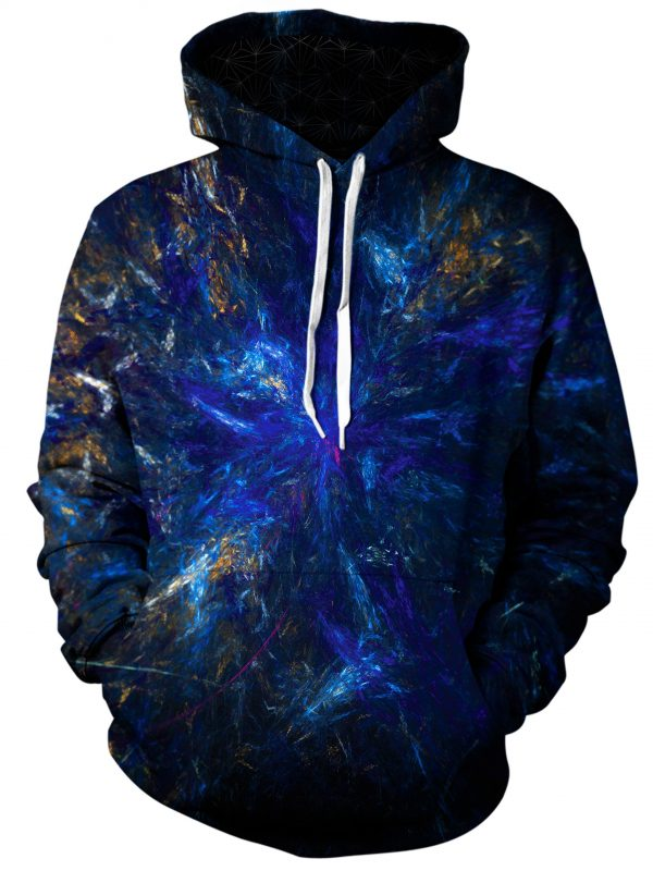 dark forest art pullover front - Galaxy Hoodie