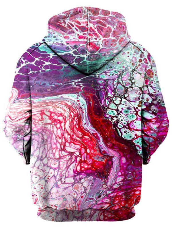 flow pullover back - Galaxy Hoodie