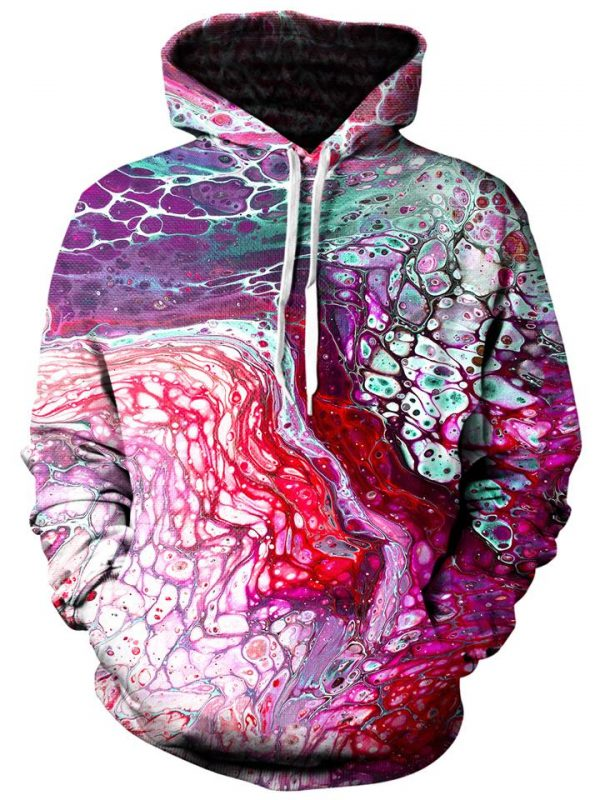 flow pullover front - Galaxy Hoodie