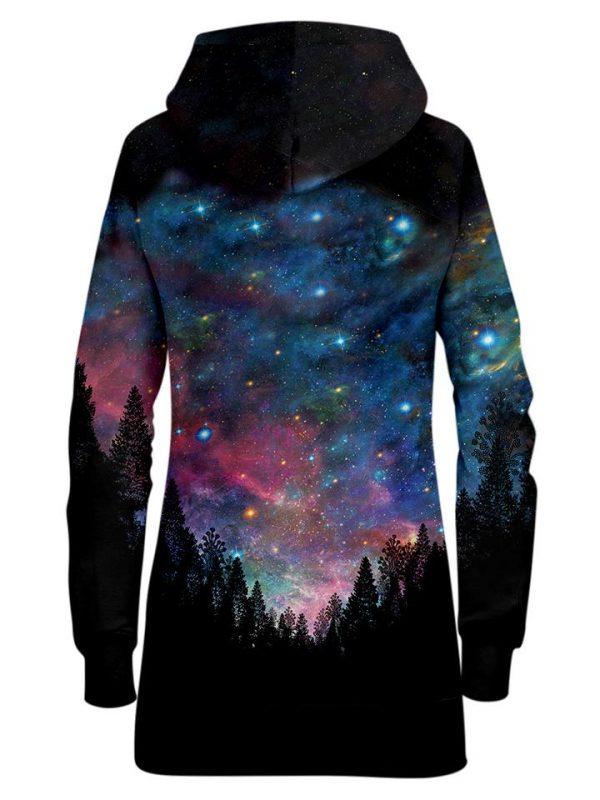 galactic valley hoodiedress back - Galaxy Hoodie