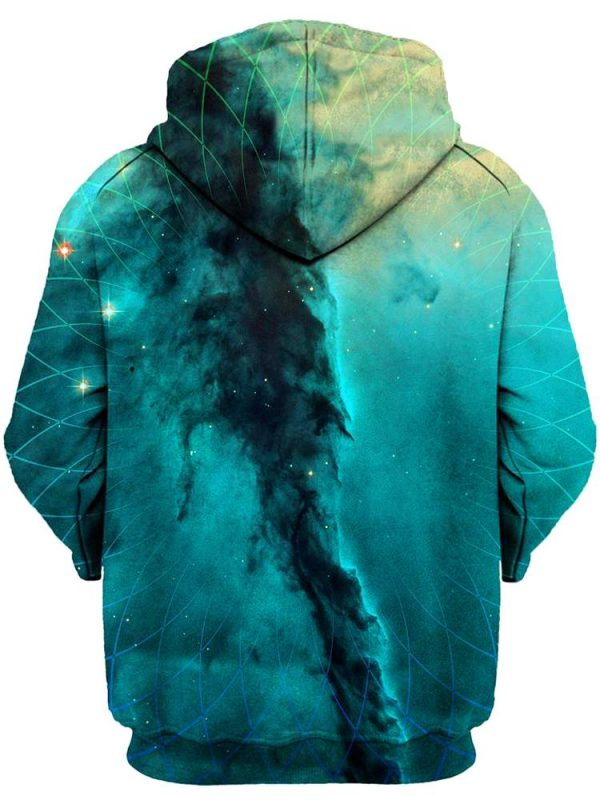 geometric cloud cluster pullover back 1024x1024  1 - Galaxy Hoodie