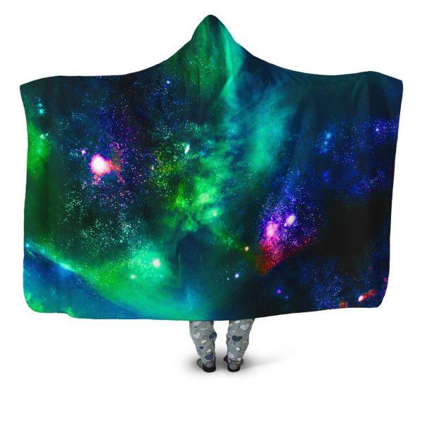 iEDM HoodedBlanket GreenGalaxy 1024x1024 1 - Galaxy Hoodie