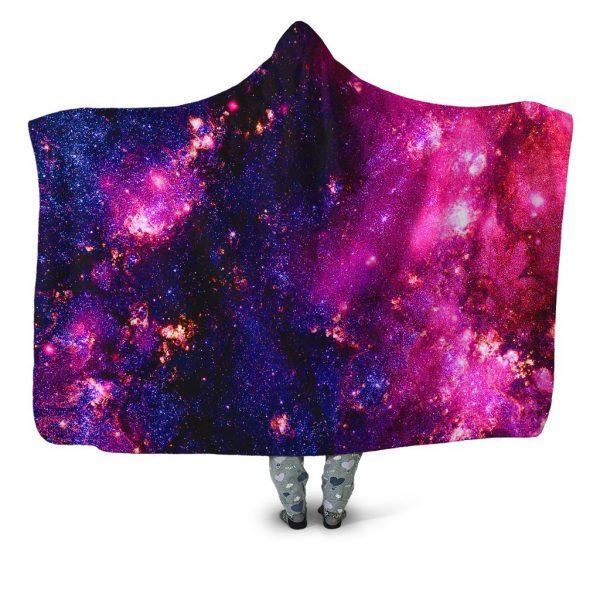 iEDM HoodedBlanket PurpleCosmos 1024x1024 1 - Galaxy Hoodie