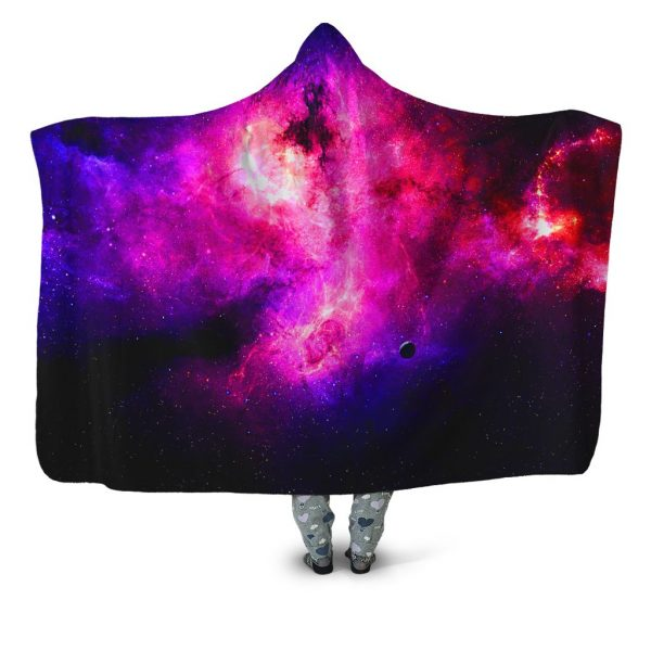 iEDM HoodedBlanket PurpleGalaxy 1024x1024 1 - Galaxy Hoodie