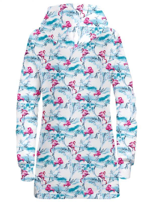 iEDM HoodieDressBack Flamingos 2048x2730 1 - Galaxy Hoodie