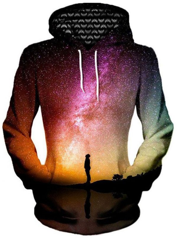 iEDM reflection pullover womensfront - Galaxy Hoodie