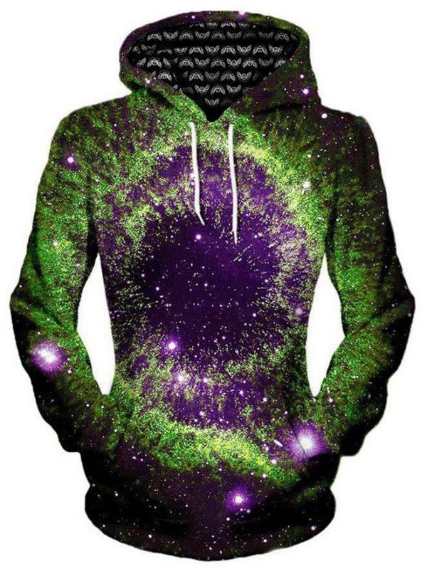 iEDM slime nebula pullover womensfronts - Galaxy Hoodie
