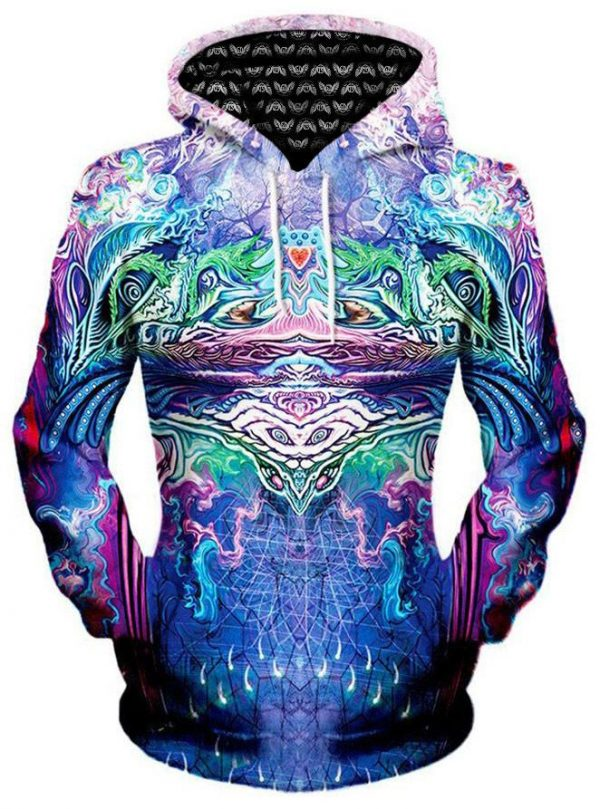 iEDM symetricity pullover womensfront - Galaxy Hoodie