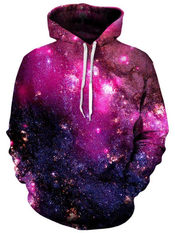 iedm HoodieBack03 Purple Cosmos NV - Galaxy Hoodie