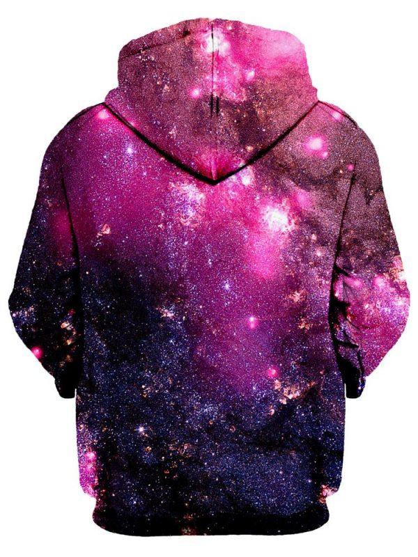 iedm HoodiePullover02Back Purple Cosmos NV - Galaxy Hoodie